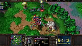 Lyn(ORC) vs 120(UD) - WarCraft 3 Frozen Throne - RN3508