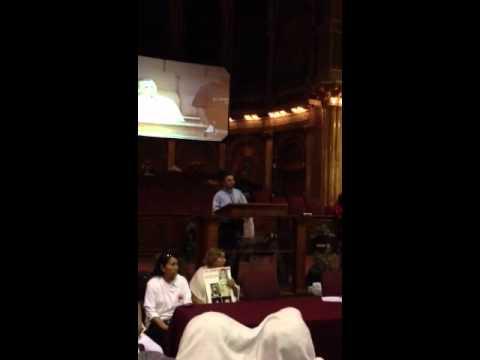 Rev Jose Landaverde Orador de la Marcha por la Paz
