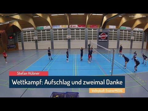 Wettkampftraining: Aufschlag und zweimal Danke - Stefan Hübner