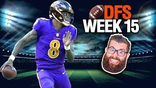 DFS Week 15 Picks NFL (2018)