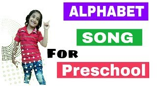 Alphabet Song for preschool