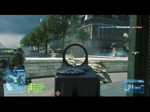 BF3 Tips & Tactics | Attacking Seine Crossing on Rush | Fets25