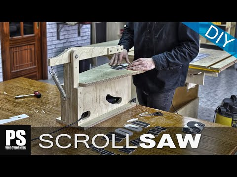 Make your own Scroll Saw (part1)