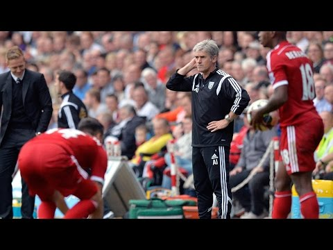 Alan Irvine evaluates West Bromwich Albion's 3-0 Premier League defeat at Swansea City