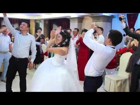 Супер флешмоб в Казахстане.Свадьба