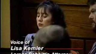 Lorena Bobbitt Trial Day One