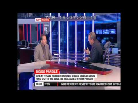Ronnie Biggs - Mike Gray Interviewed On Sky News, 23 April 2009