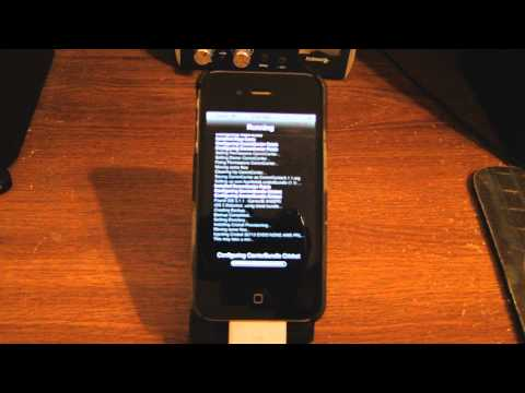 HOW TO FLASH SPRINT IPHONE 4 TO CRICKET IN 3 STEPS (TALK & TEXT ONLY