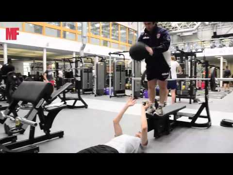 Rugby League Training With Men's Fitness