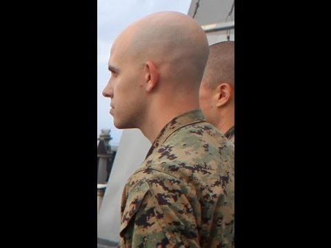 Friends Dont Let Friends Have Hair USMC RecruitBoot