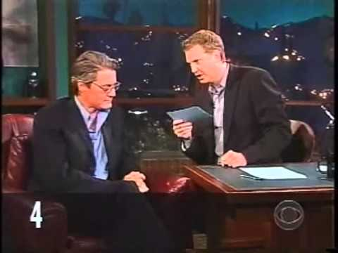 Kyle MacLachlan on The Late Late Show with Craig Kilborn (2004)