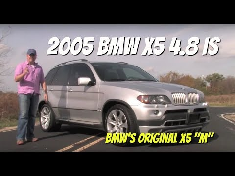 BMW X5 4.8is--Video Test Drive with Chris Moran