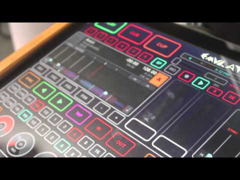 2012 Namm Show - Smithson Martin Emulator KS-1974 - Touch Screen DJ Mixer -  Hollywood Dj Equipment