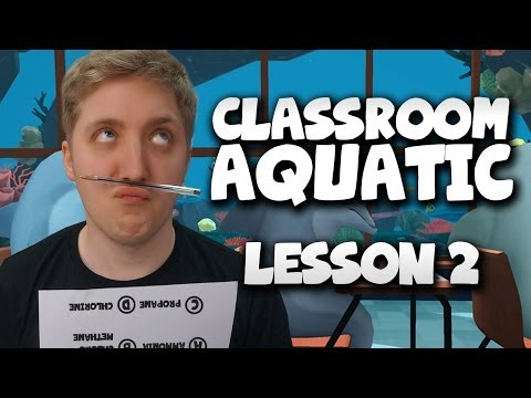 Classroom Aquatic - The Eraser Sniper - Lesson 2