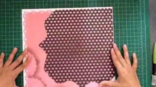 Pregnancy Scrapbook Layout process