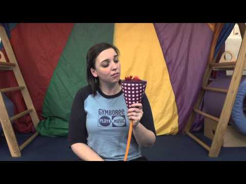 Gymboree Play & Music's Manhattan Minute: Object Permanence and Gymbo with Ms. Danielle