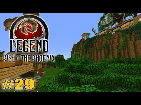 Geheimgang entdeckt! Was da los?!: Minecraft Legend #29 - Rise of the Phoenix