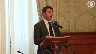 Roma - Renzi per la giornata internazionale della disabilità (03.12.14)