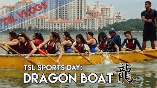 WE TRIED DRAGON BOATING! | TSL Vlogs