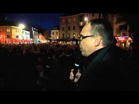 Attentat contre Charlie Hebdo - Rassemblement à Cherbourg-Octeville (Manche)
