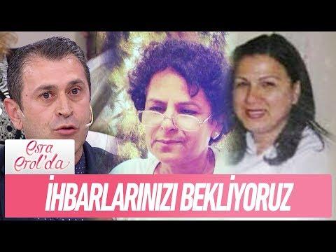 Hemşire Ayşe Yavuz ve Leyla Atay ile ilgili ihbarlarınızı bekliyoruz - Esra Erol'da 13 Aralık 2017