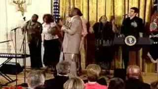 "¥T "" The Days Of Elijah(Behold He Comes)"" -  Donnie McClurkin   At The White House  ¥T"
