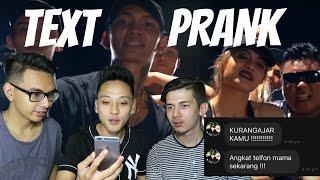 TEXT PRANK MAMA PAKE  LAGU  Young Lex Ft AwKarin - BAD  GONE WRONG