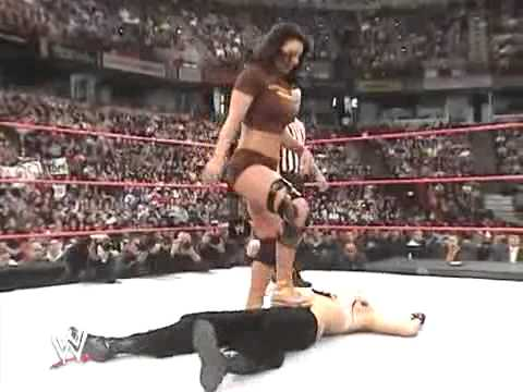 WWE New Years Revolution 2006 Bra And Panties Gauntlet Match