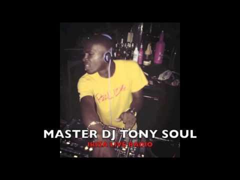 MASTER DJ TONY SOUL - IBIZA LIVE RADIO - CAYO BLANCO - LOUTRAKI, GREECE