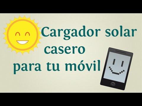 Cómo hacer un cargador solar casero para tu móvil   INNATIA.COM