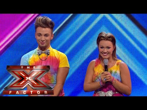 The Joys sing Queen's Somebody To Love   Arena Auditions Wk 1   The Xtra Factor UK 2014