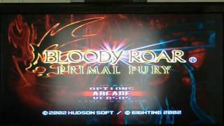 Bloody Roar Primal Fury Review