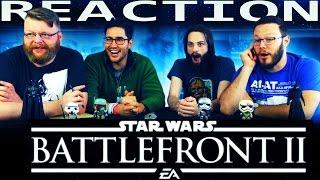 Star Wars Battlefront II: Full Length Reveal Trailer REACTION!!
