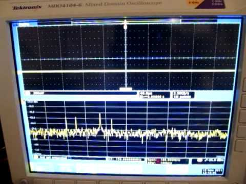 Transient EMI Debug using Tektronix MDO4000 Mixed Domain Oscilloscope