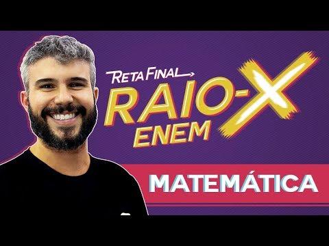 Raio X Enem: Os temas mais cobrados de Matemática | Prof. Diego Viug