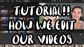 How to Edit a Vlog in iMovie /// Intro, Underwater Sound, & Customs Graphics From GraphicStock.com