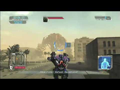 Transformers Revenge of the Fallen Raw SP gameplay Optimus desktop