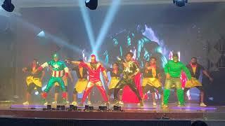 RRD Avengers performance - Raging Bulls