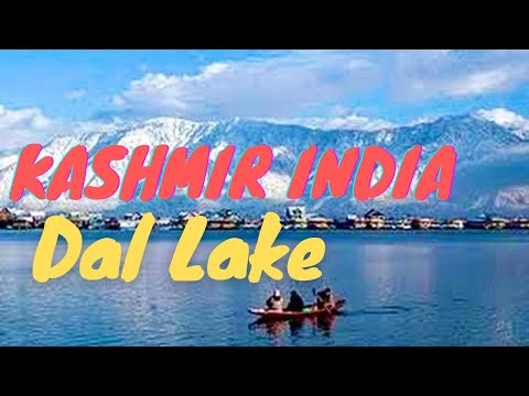 Beautiful Srinagar Dal Lake Shikara Boat Ride Kashmir India *HD*