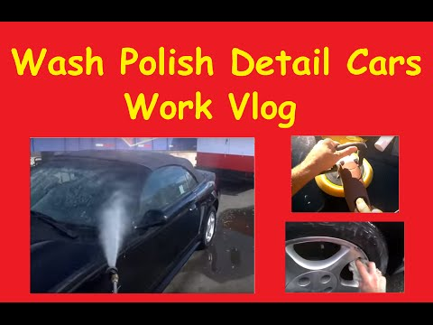 Car Polishing Detail Tires Paint Buff & DIY Restore 1 Step AutoDetail Tips