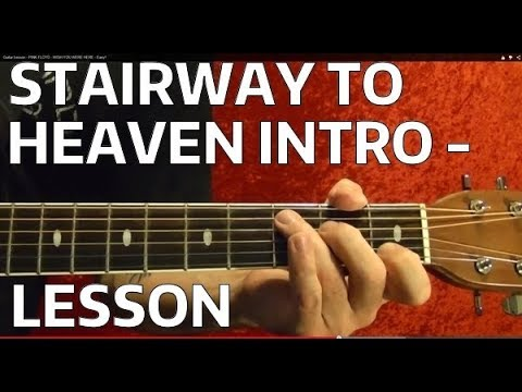 STAIRWAY TO HEAVEN Intro. - Guitar Lesson - Jimmy Page