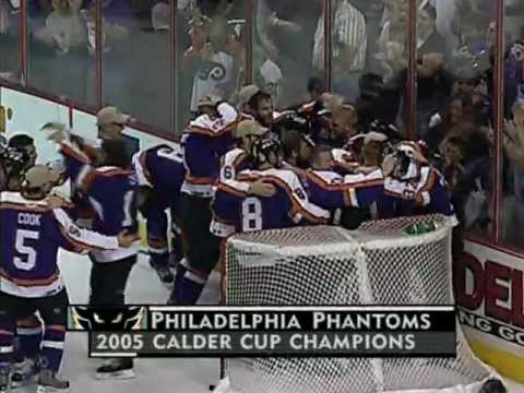 Philadelphia Phantoms win 2005 Calder Cup