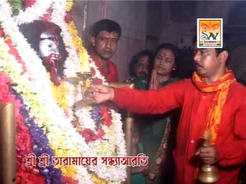 Sandhya Arati At Tarapith Mandir video