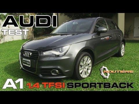 Audi A1 1.4 TFSI Sportback caja S-tronic Test - Routière