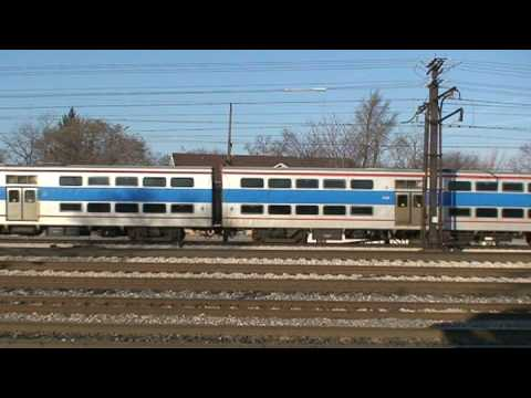 Metra Electric M.U P42DC #178 Filmed on 1-3-09. (c) 9th Street Productions.