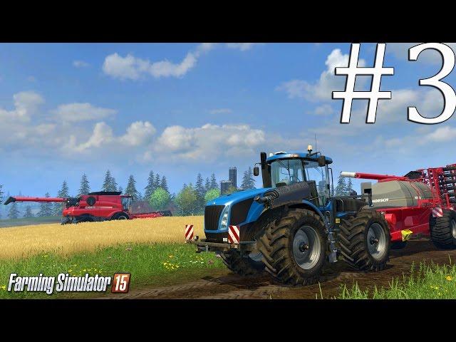 Скриншот из игры Farming Simulator 15 под номером 1. Перейти к прохождению