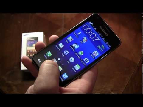Samsung Galaxy S Advance review in romana