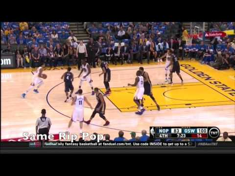 Golden State Warriors vs New Orleans Pelicans Opening Night Sets