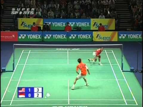 All England 2009 SF  Lee Chong Wei vs Taufik Hidayat