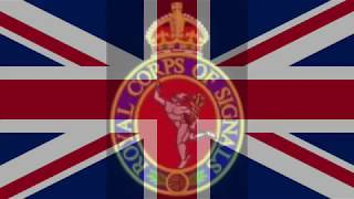 Begone Dull Care - Royal Corps of Signals (Quick March)